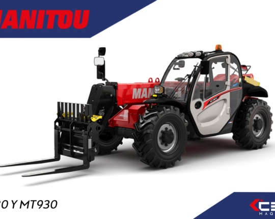 MANITOU MT AND 9 COMPACT METERS
